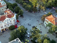 Varna's square from a bird's eye
